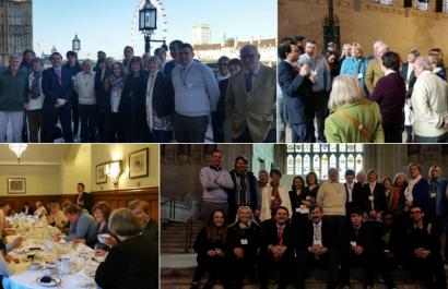 SLCA Councillors vist Westminster