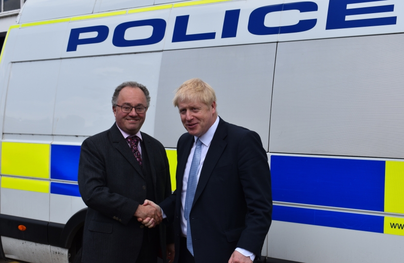 Rupert Meets PM Boris Johnson