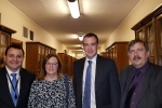 Alberto and Louise meet James Warton MP
